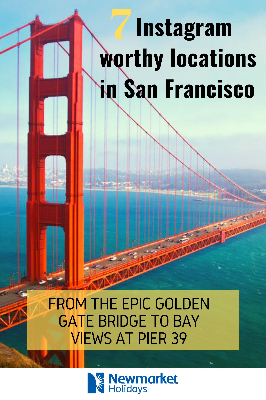 Instagram worthy locations in San Francisco