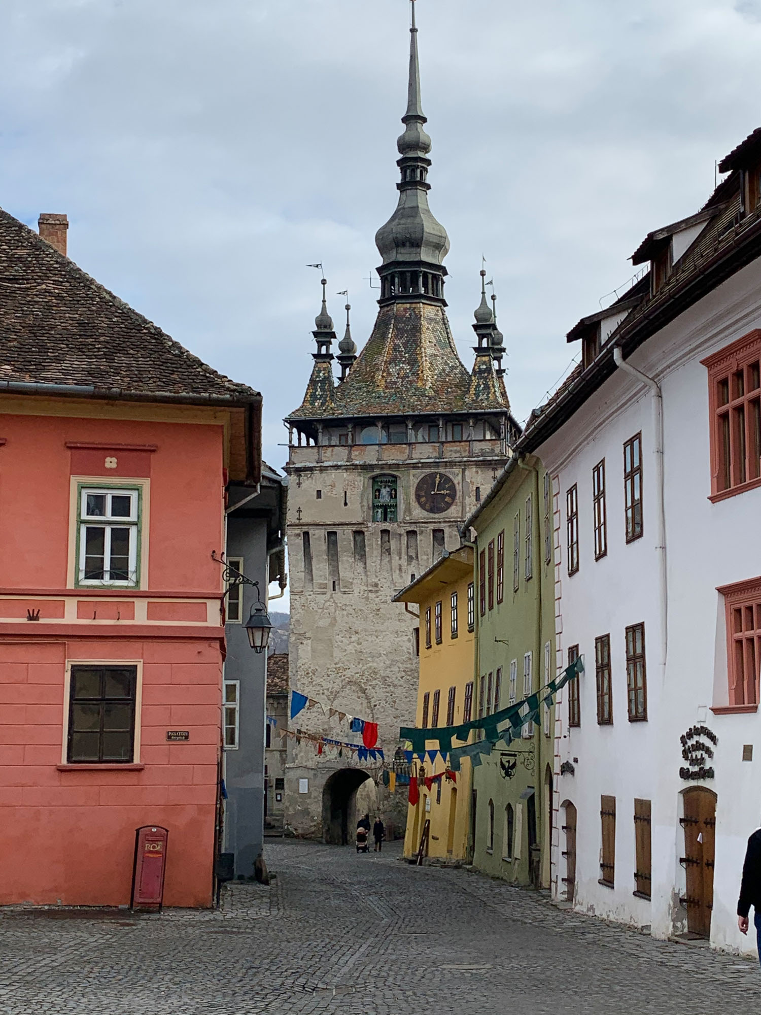 Check out the vibrant streets of picture-perfect Sighișoara.