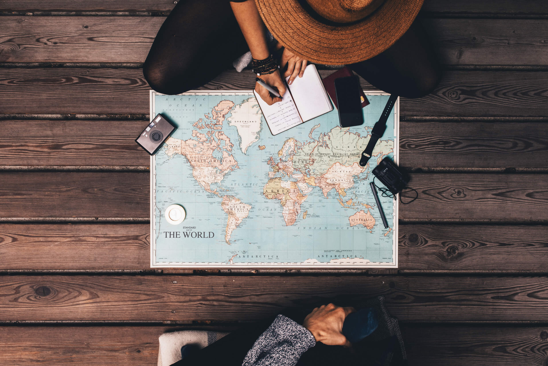 Planning world trip