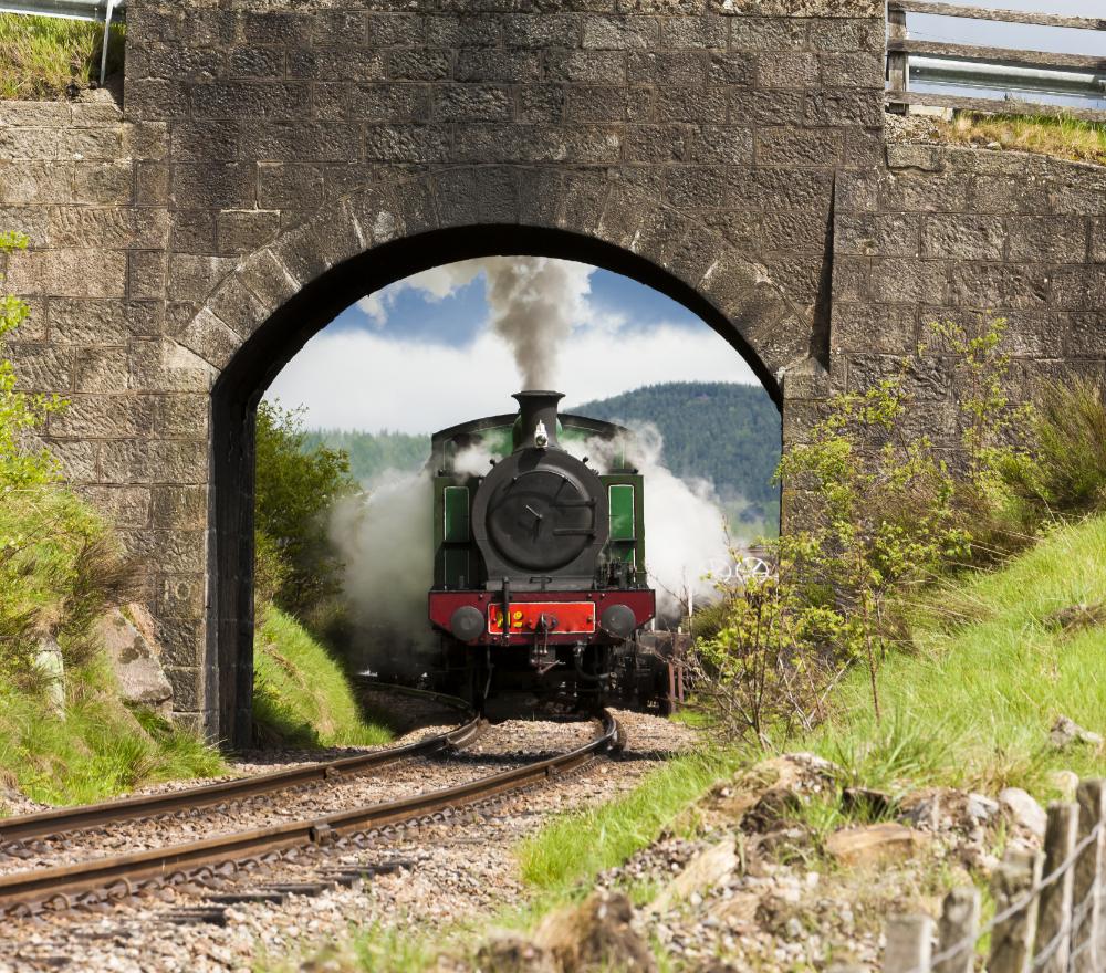 Scottish Highland Train