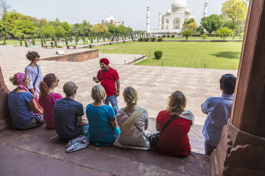 Small Group Tour Taj Mahal