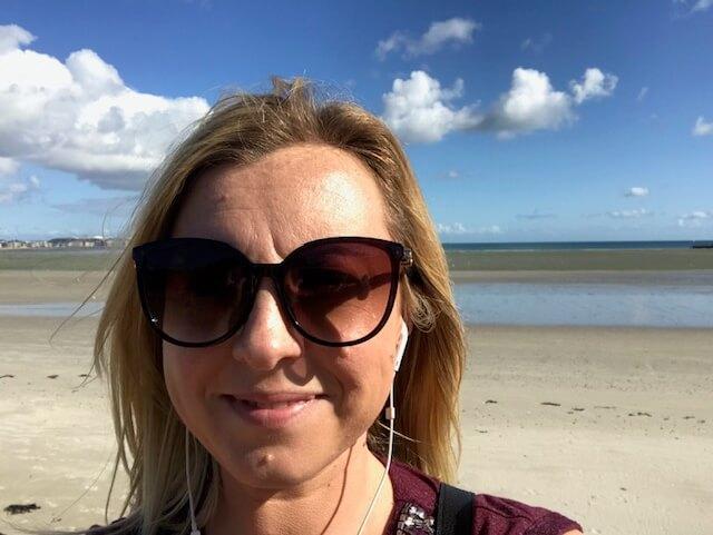 Sunshine on a Jersey beach
