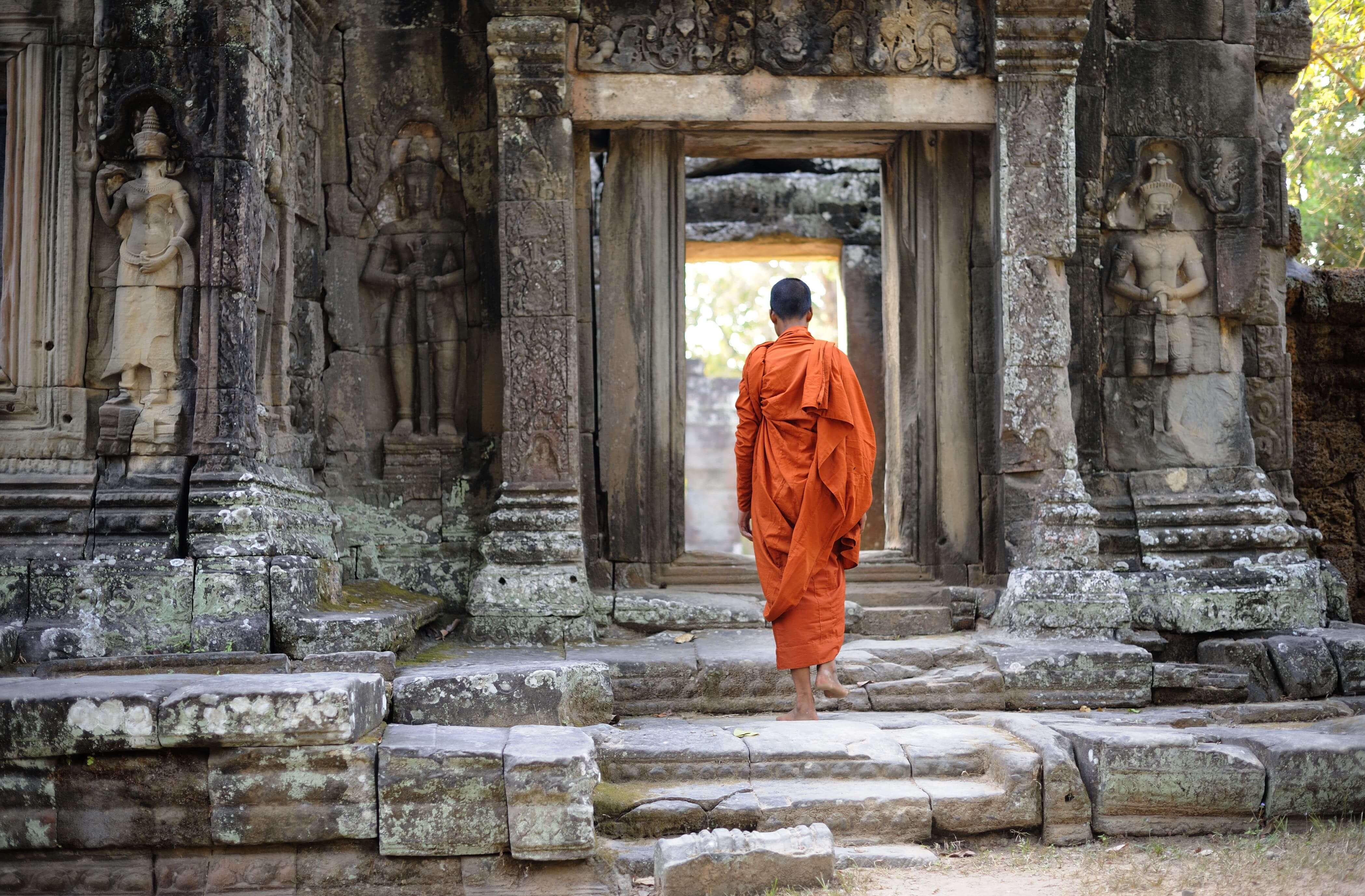 Banteay Kdei is a 12th century temple built by King Jayavarman VII.