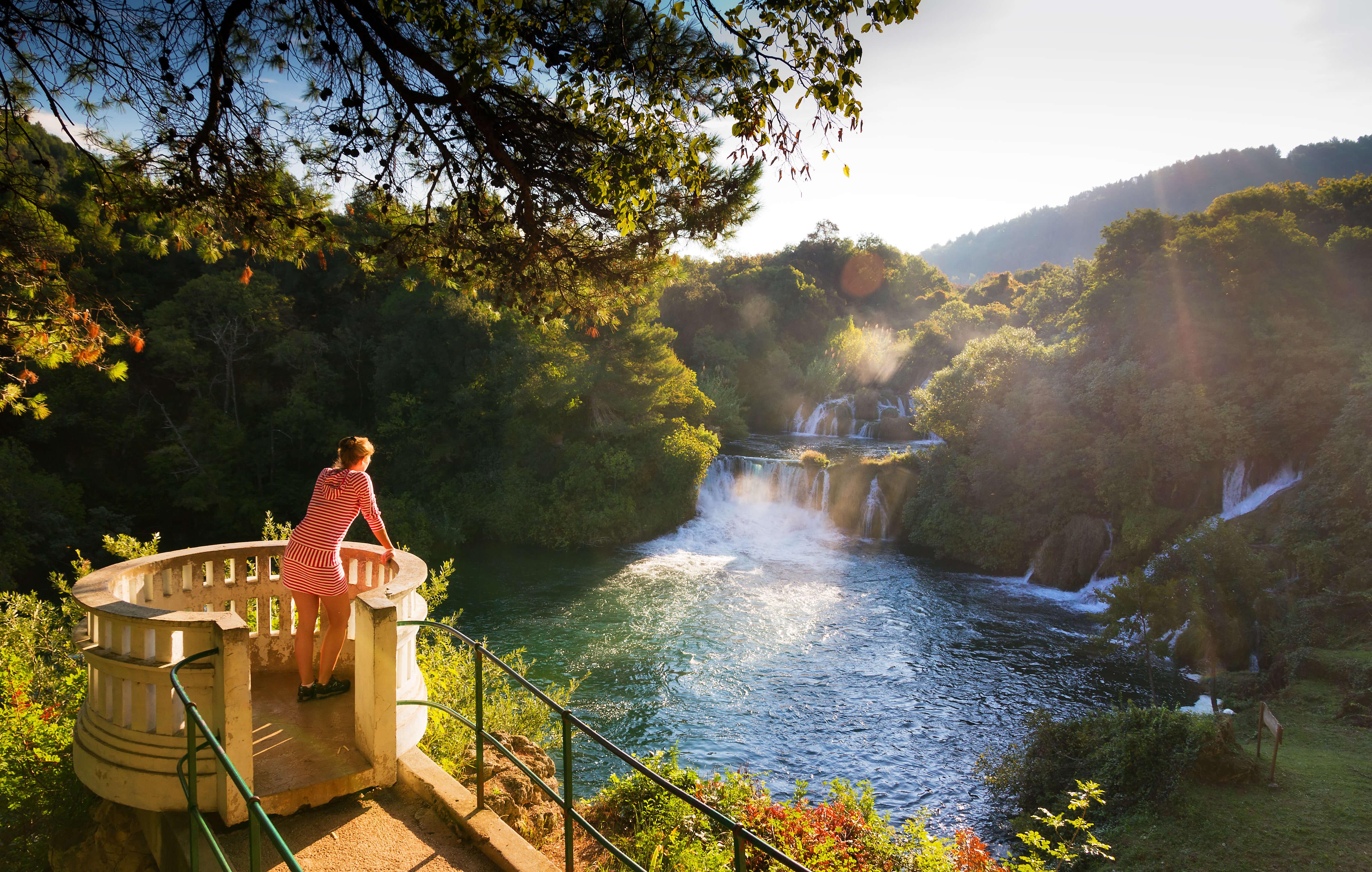 Croatia's stunning, naturally scenic Krka National Park.