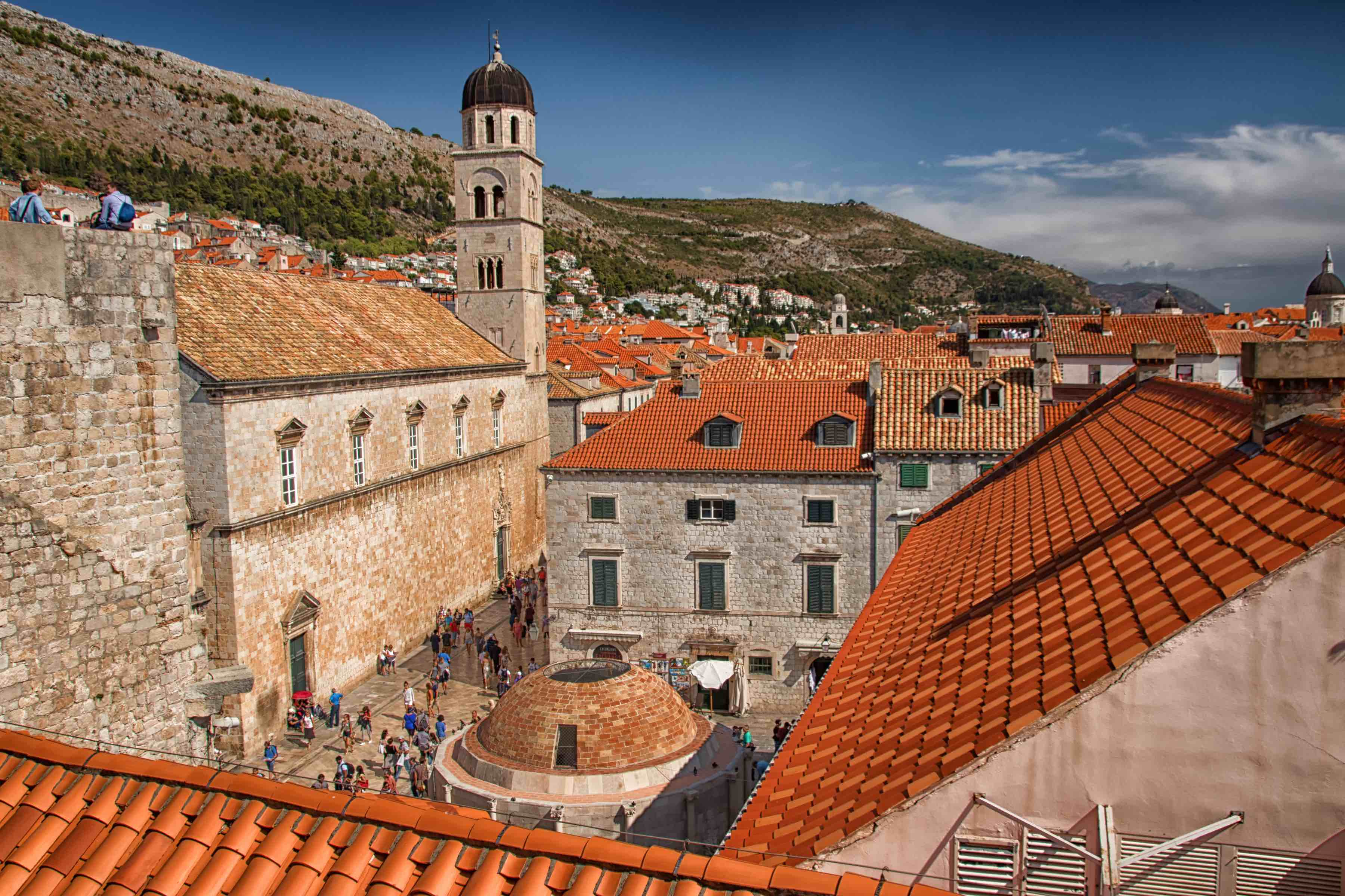 The uniquely historic walled city of Dubrovnik, Croatia.