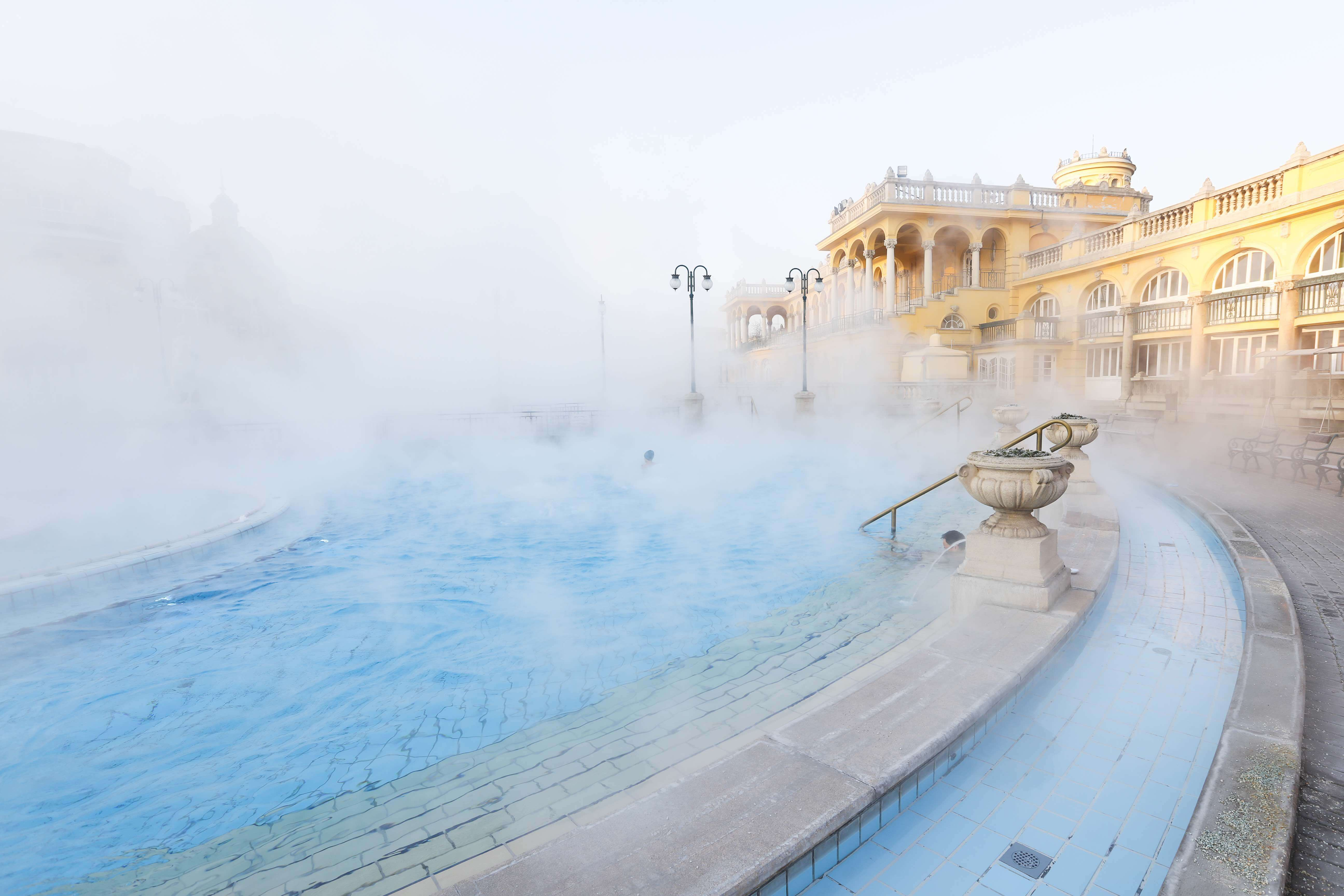 The traditional thermal baths of Budapest are just waiting for you to have a soak.
