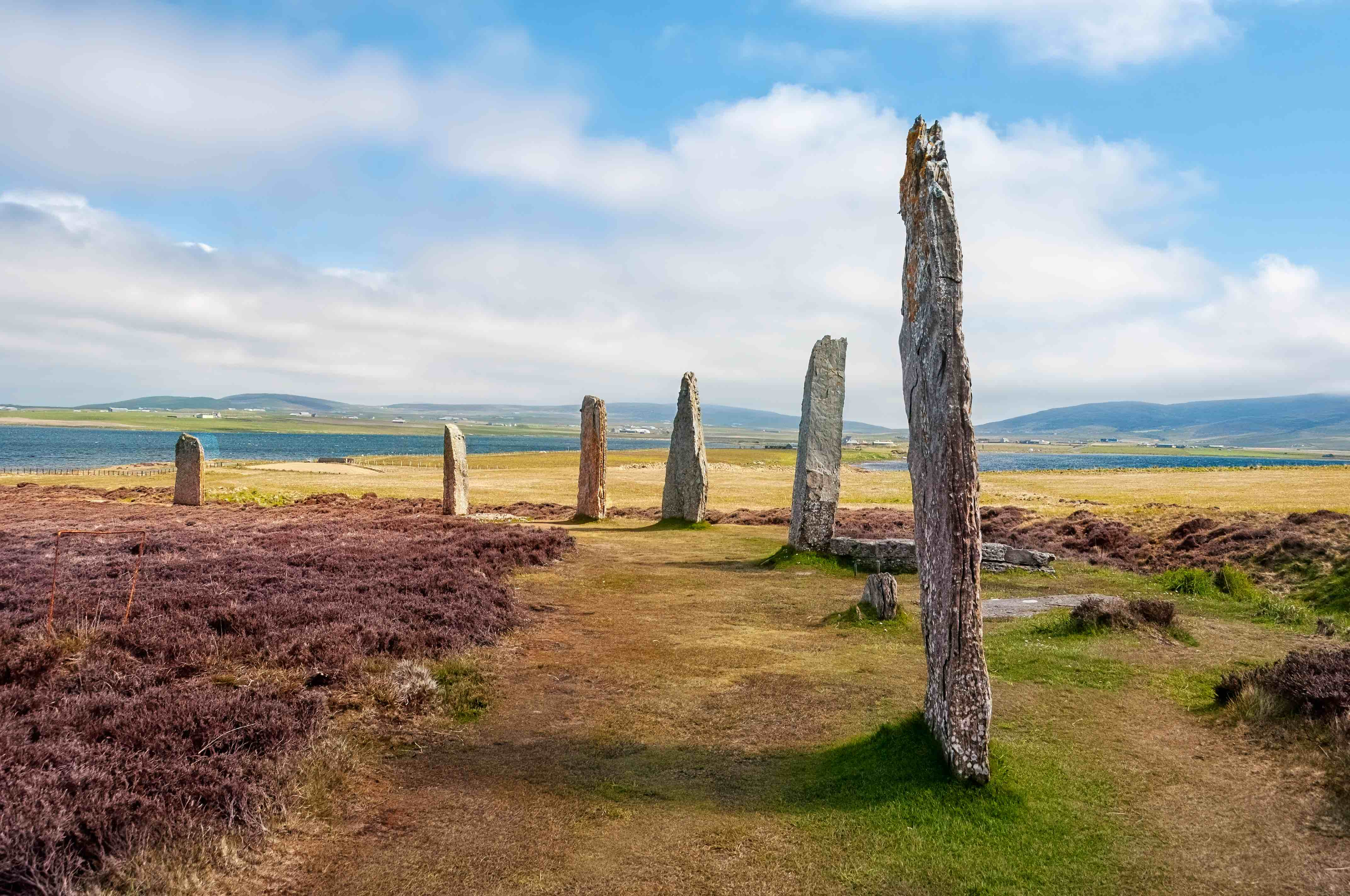The Heart of Neolithic Orkney, the standing stones of Stenness.