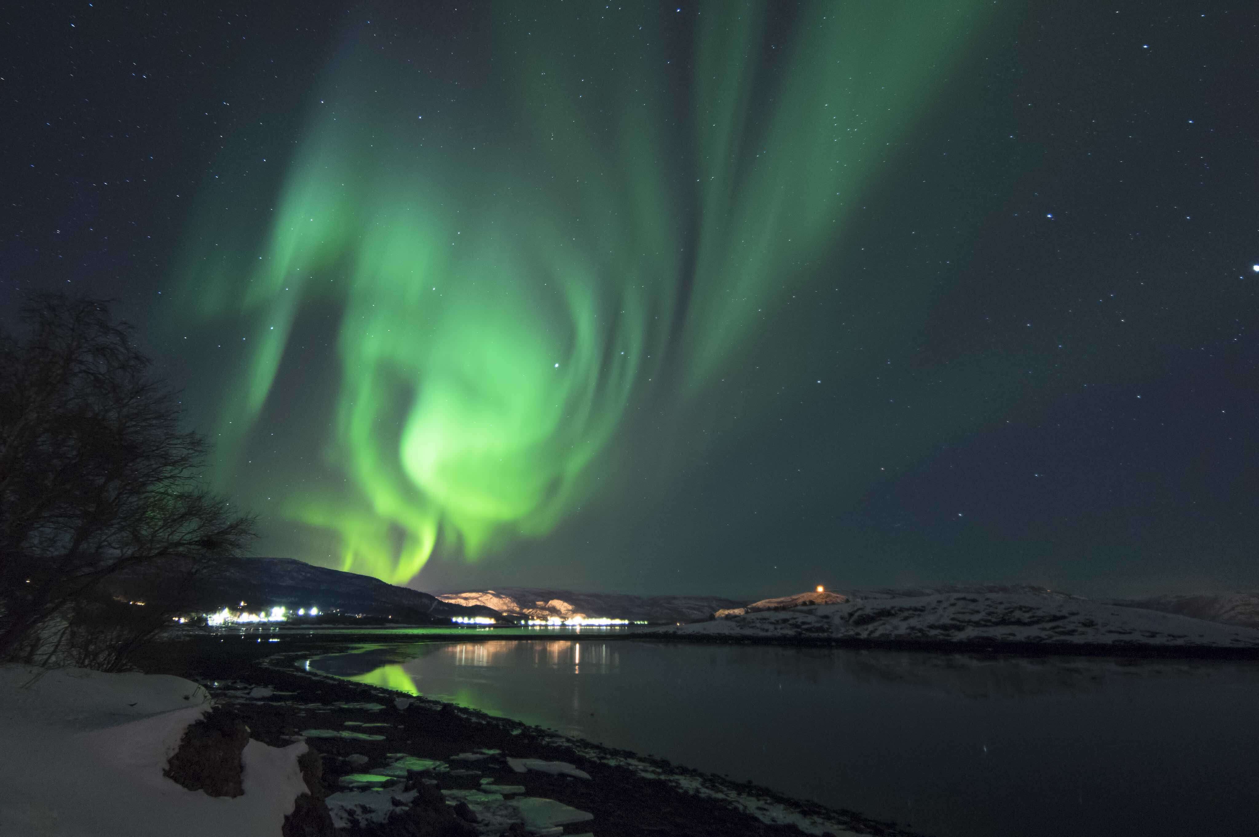 Will you be lucky enough to spot the Northern Lights in Alta?